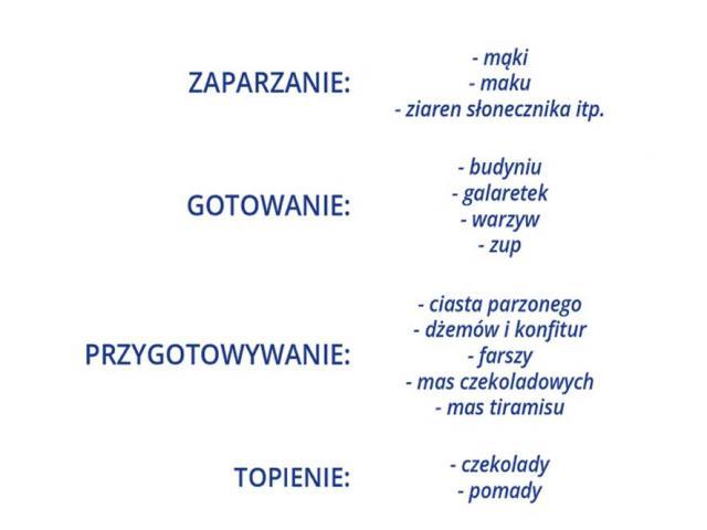 Maszyna do kremów budyniu czekolady Multizaparzacz - 2/4